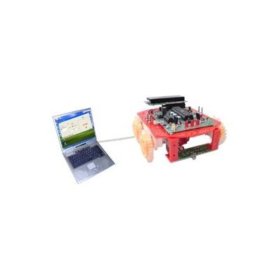 کیت ربات مسیریاب و کامپیوتری با میکروکنترلر AT89S51 با نمایشگر LCD 2*16