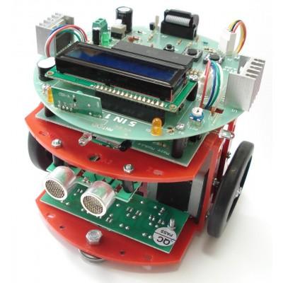 پنج ربات دریک ربات (ماز - مسیریاب - آتش نشان - تعقیب سیم حامل جریان - کنترل بی سیم) مدل NAR 119