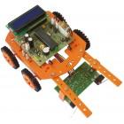 بسته آموزشی پنج ربات با میکروکنترلر PIC 16F877A (مسیریاب - آتش یاب - نوریاب - تشخیص مانع - کنترل بی سیم)