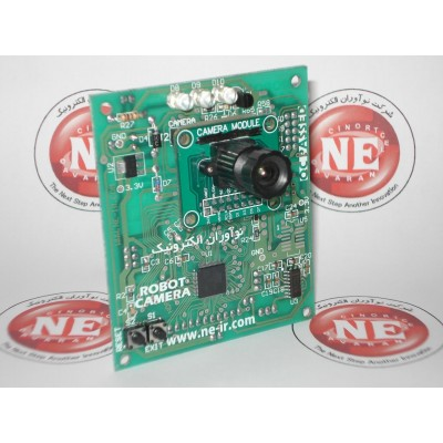ماژول دوربین سریال + ماژول تشخیص رنگ NCB147-COMBINE