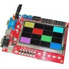 برد آموزشی FPGA های XC3S500EPQ208 - XILINX (سری Spartan3E) مدل NSK114 نسخه 2