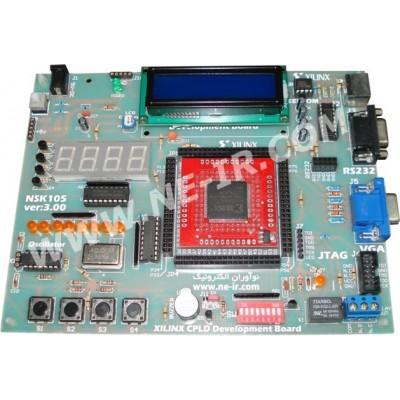 برد آموزشی CPLD های (ALTERA MAX ll (EPM570T100 مدل NSK145