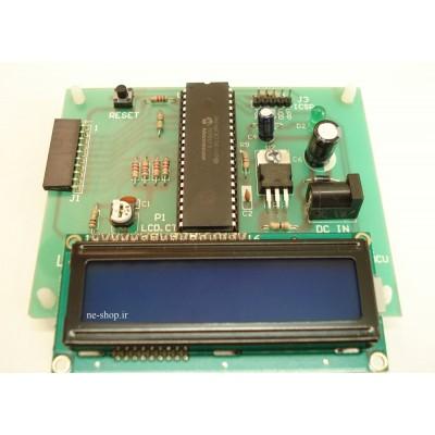 پروژه های عملی با میکروکنترلر PIC16F877A مدل NMP201