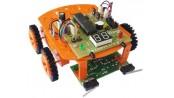 کیت آموزشی چهار ربات با میکروکنترلر (AVR(ATMEGA32 مدل NAR125